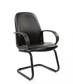 Кресло для посетителей CHAIRMAN 279 V экокожа чёрная