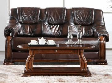 Диван-кровать CASTELLO (3-х местный) коричневый