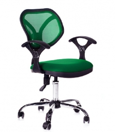 Кресло оператора CHAIRMAN 380 зелёное