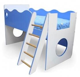 Кровать с лестницей (правая, левая) Морячок
