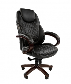 Кресло руководителя CHAIRMAN 406 чёрное