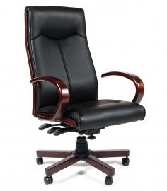 Кресло руководителя CHAIRMAN 411 чёрное