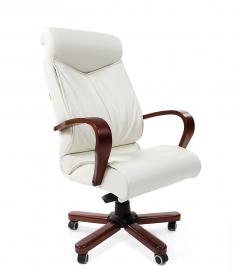Кресло руководителя CHAIRMAN 444 WD белое