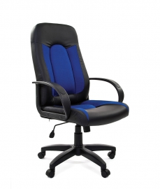 Кресло руководителя CHAIRMAN 429 синее