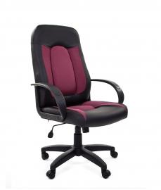 Кресло руководителя CHAIRMAN 429 бордовое