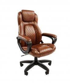 Кресло руководителя CHAIRMAN 432 коричневое