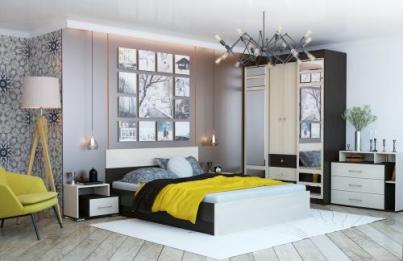 Спальня Юнона комплектация 1