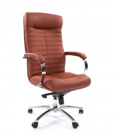 Кресло руководителя CHAIRMAN 480 коричневое