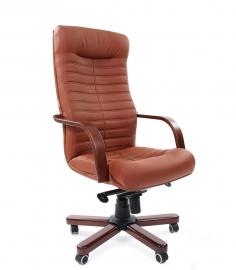 Кресло руководителя CHAIRMAN 480 WD коричневое