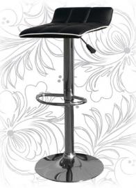 Барный стул 5014 Черно-белый