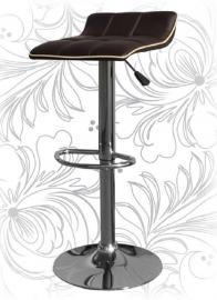 Барный стул 5014 Коричнево-кремовый