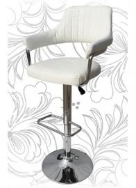 Барный стул 5019 Белый крокодил