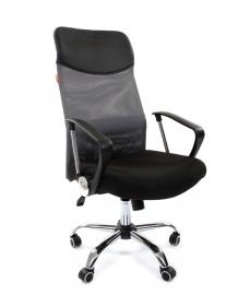 Кресло руководителя CHAIRMAN 610 серое