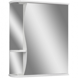 Шкаф навесной с зеркалом АЙСБЕРГ Волна-1 60-R правый
