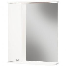 Шкаф навесной с зеркалом АЙСБЕРГ Классик 50-L левый