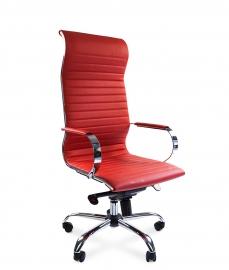 Кресло руководителя CHAIRMAN 710 красное