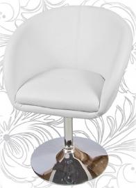 Дизайнерское барное кресло 8600 Белый
