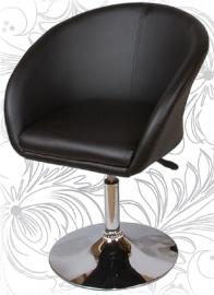Дизайнерское барное кресло 8600 черное