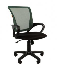 Кресло оператора CHAIRMAN 969 black сетка зелёная