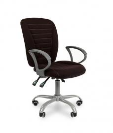 Кресло оператора CHAIRMAN 9801 ERGO ткань чёрная