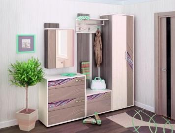 Набор мебели для прихожей Лаура 4