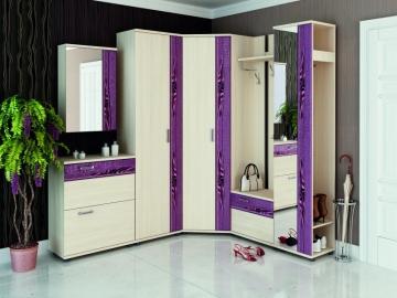 Угловой набор мебели для прихожей Маргарита 1