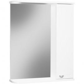Шкаф навесной с зеркалом АЙСБЕРГ Классик 60-R правый