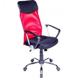 Компьютерный стул AV 128 красно-чёрный
