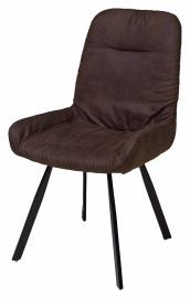 Стул BISON темно-коричневый винтаж