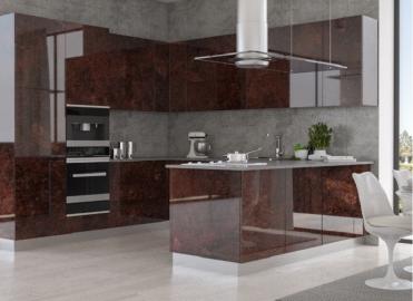 Кухонный гарнитур REHAU CRYSTAL Decor Marmo