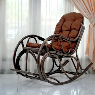 Кресло-качалка с подножкой Promo