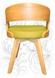 Стул деревянный LMZ-4688 зеленый