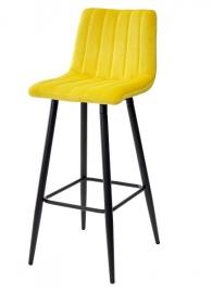 Барный стул DERRY золотая осина, велюр