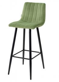 Барный стул DERRY террариумный мох, велюр