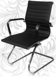 Кресло для посетителей LMR-102N черное