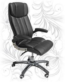 Кресло для руководителя LMR-107B черное