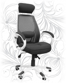 Кресло для руководителя LMR-109BL белое