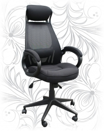 Кресло для руководителя LMR-109BL черное