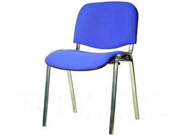 Компьютерный стул ИЗО синий  (хром) комплект 5 шт