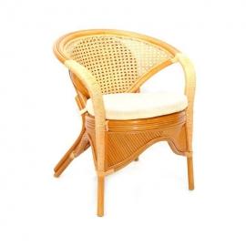 Кресло Rainbow тёмно-коричневый
