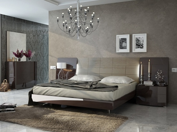 Кровать двуспальная FENICIA 511 ( 160 ) шоколад