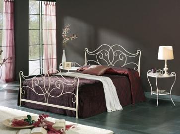 Кровать двуспальная DUPEN 514 Katia (180) кремовый