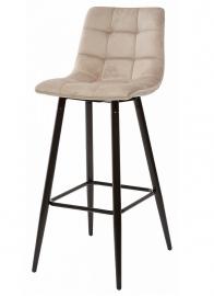Барный стул LECCO LATTE, велюр