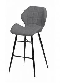 Барный стул MARCEL серый кварц