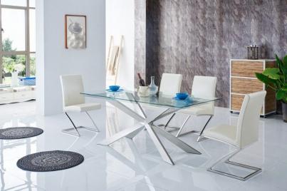 Стол T088 (1600) стеклянный