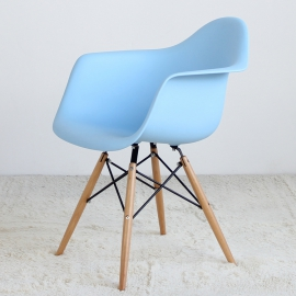 Стул пластиковый SC-002 Голубой