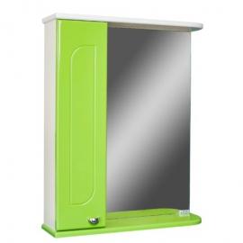 Шкаф навесной с зеркалом   РАДУГА 50 яблоко- L левый