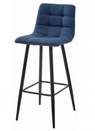 Барный стул SPICE полночный синий, ткань