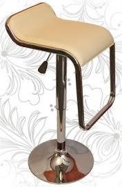 Барный стул 3021 Crack кремовый