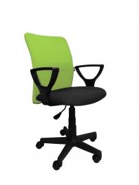 Компьютерный стул ТОМ (салатово-чёрный)